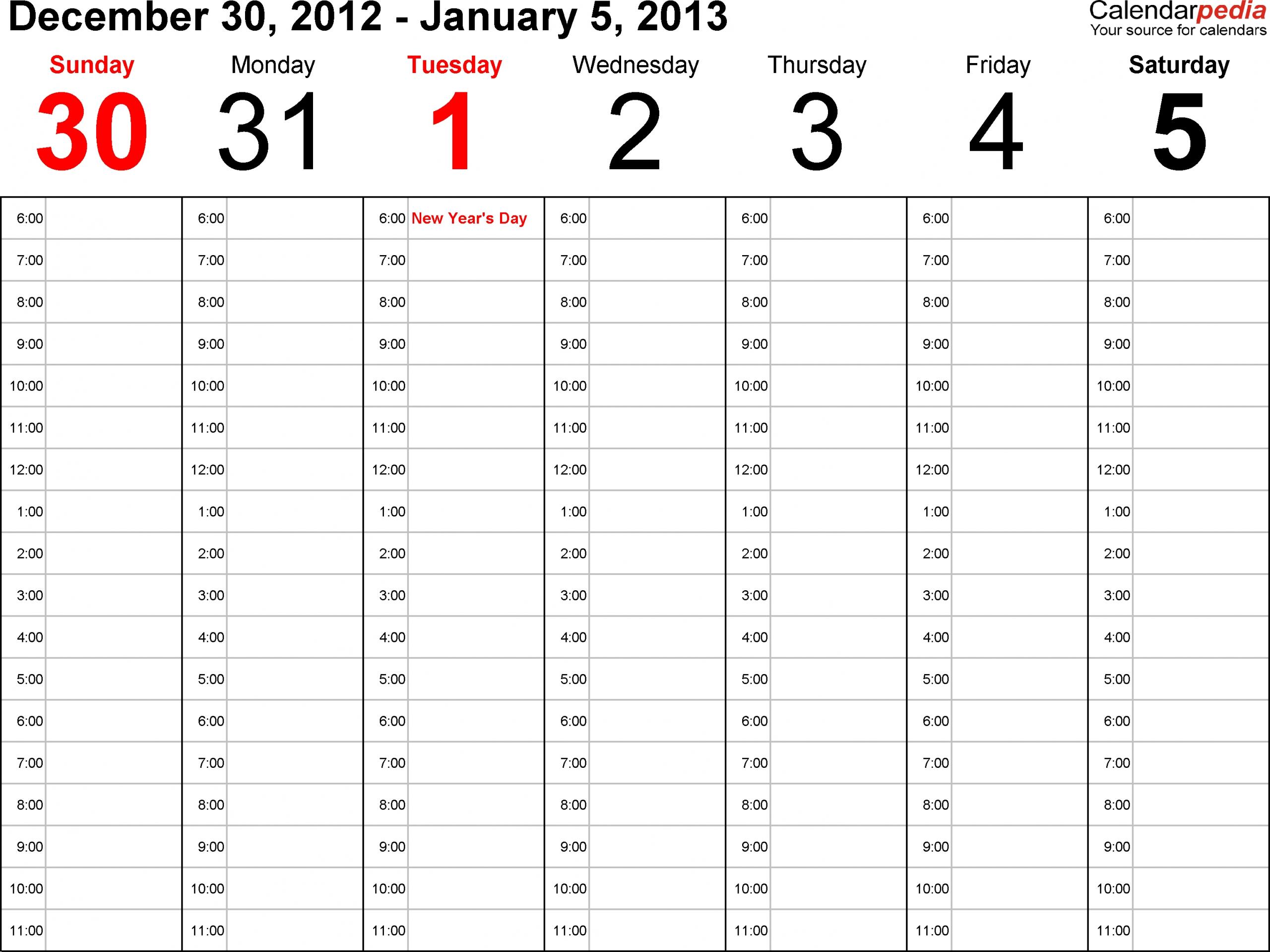 Printable Paper Of A Calinder Of The Next Two Weeks : Free Two Week Calendar Pdf