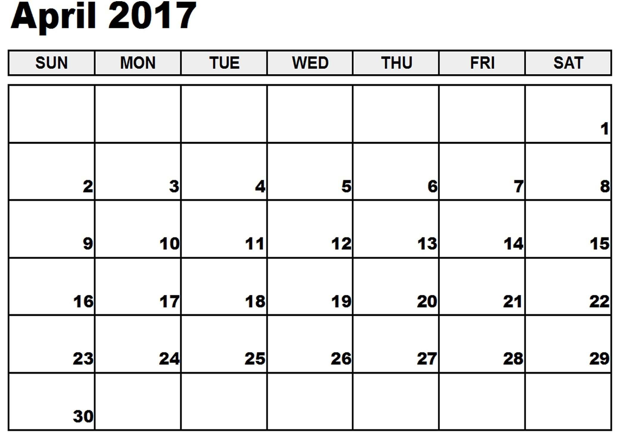 Printable Yearly Calendar With Space To Write : Free Free Fillable Monday Through Friday Calendar