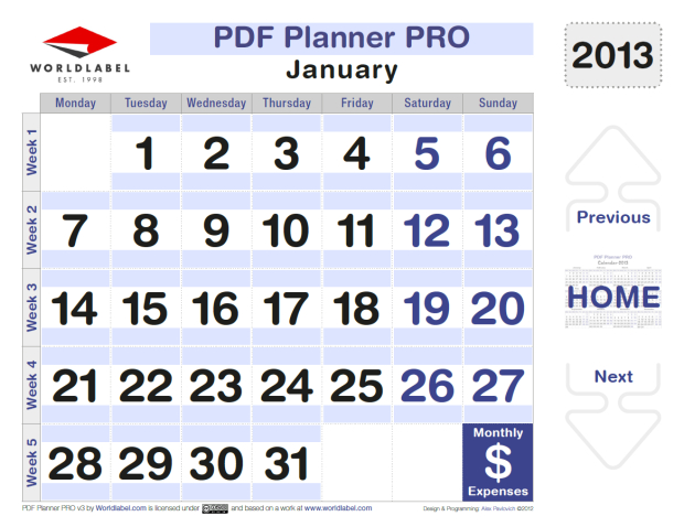 Productivity Printables | Worldlabel Blog Free Weekly Calendar Fillable With Times Starting At 6Am