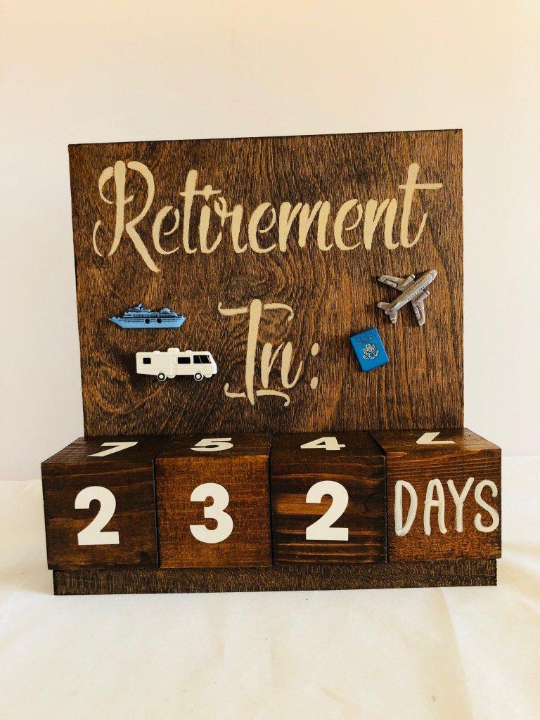 Retirement Calendar Countdown – Calendar Template 2020 Free Countdown Calendar For Retirement