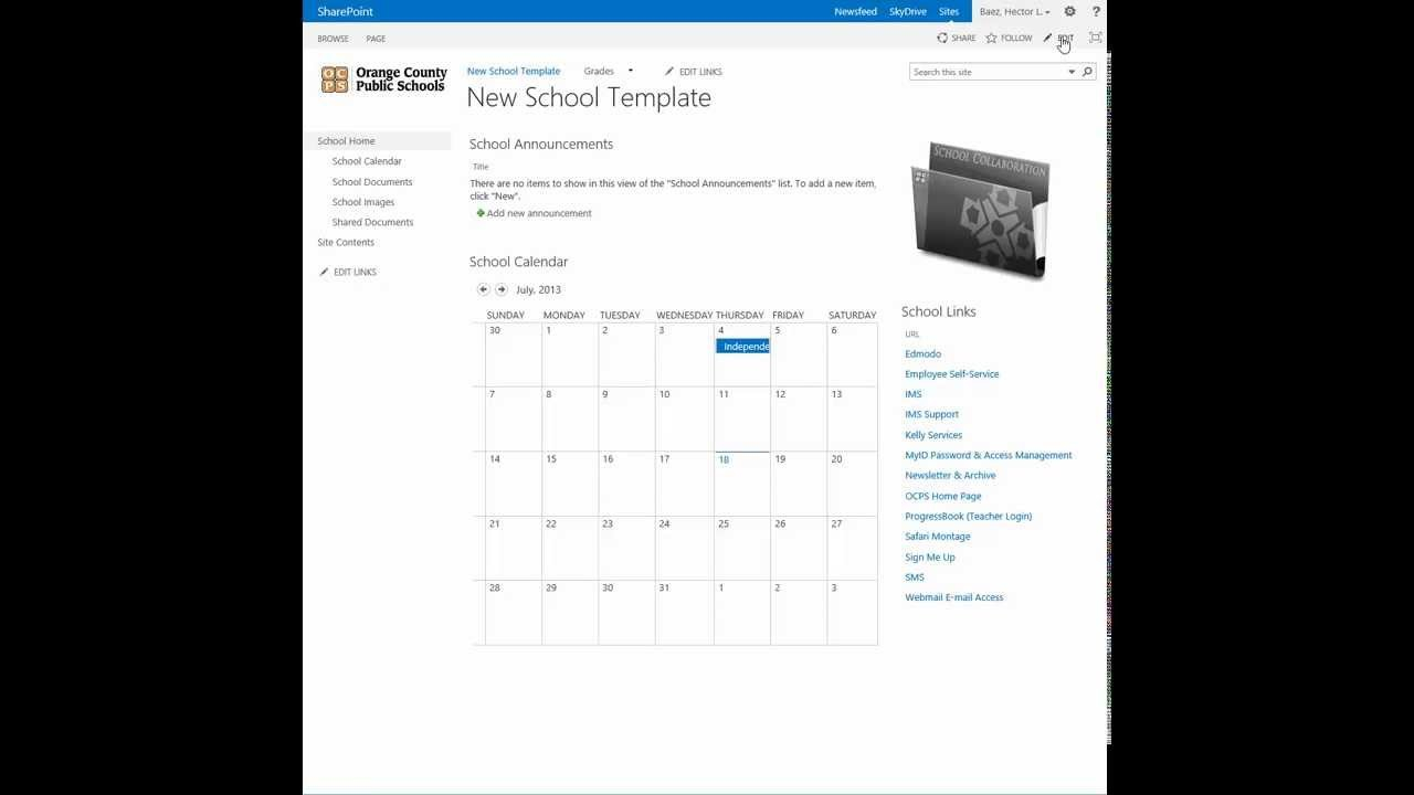 Sharepoint – Change The Calendar View To A List View – Youtube Calendar I Can Modify