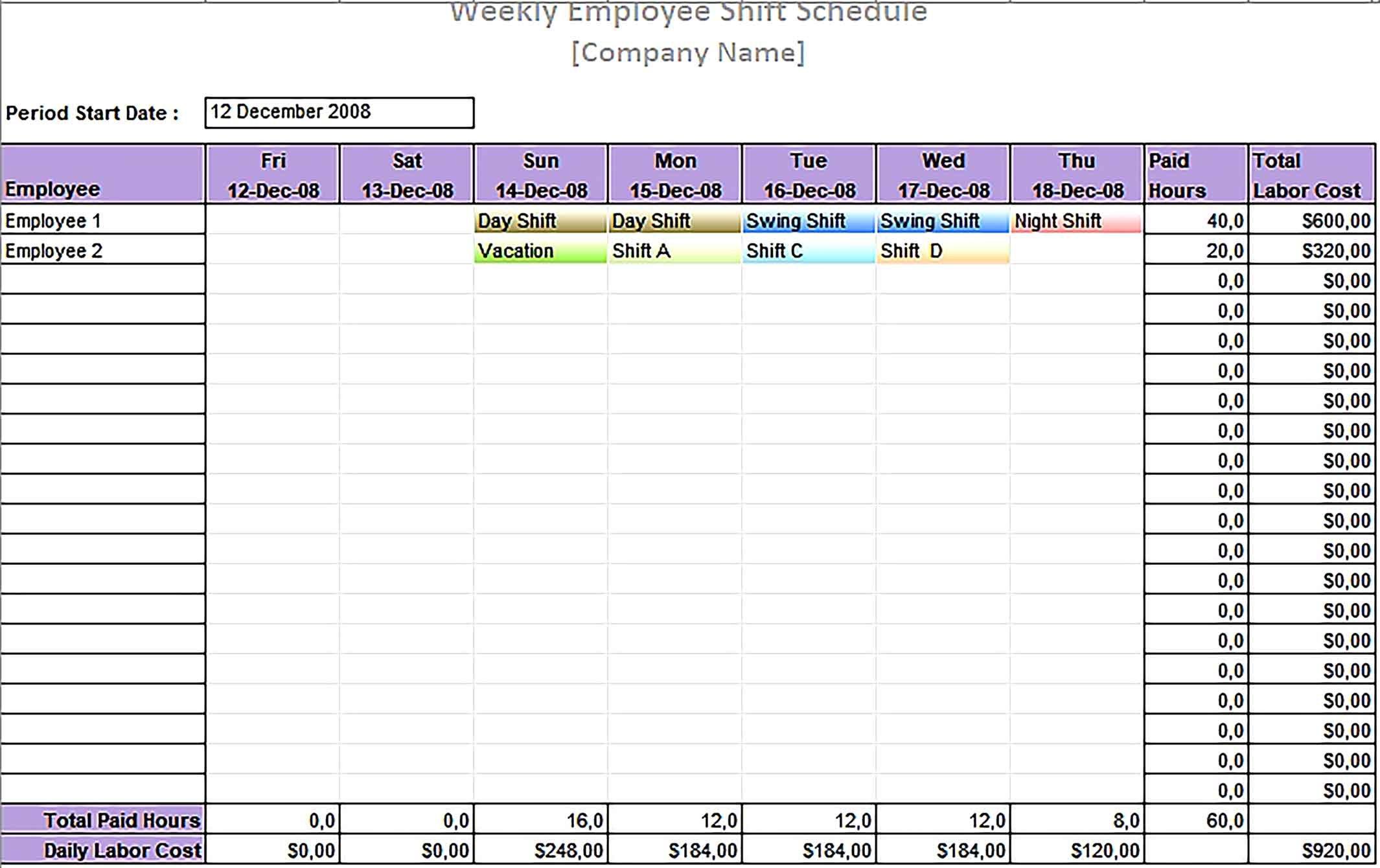 Shift Schedule Template 2021 | Calendar Printables Free Blank Free Printable Shift Calendars