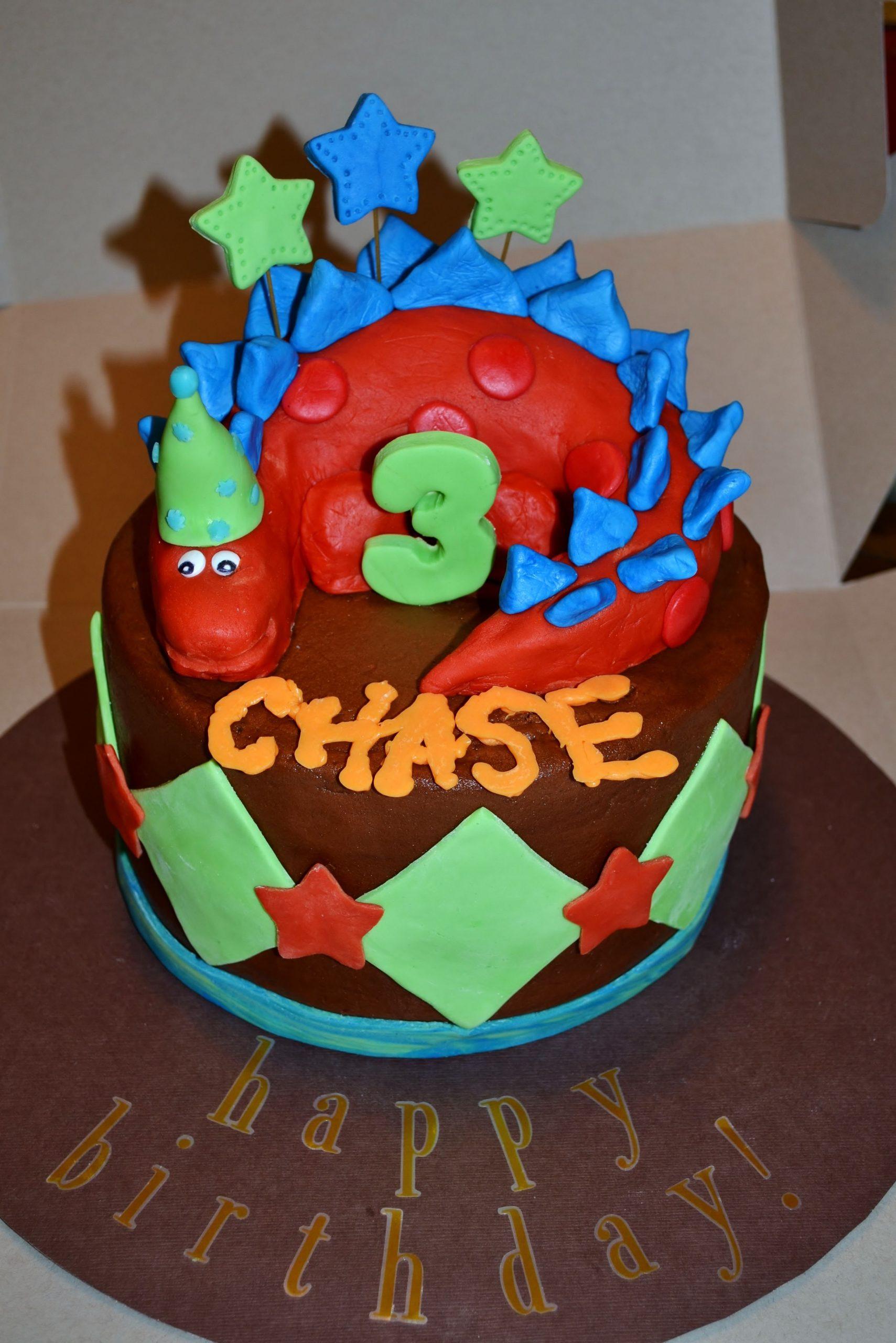 Stegosaurus Dinosaur Birthday Cake | Dinosaur Birthday Printable Cupcakes With Numbers 1 31