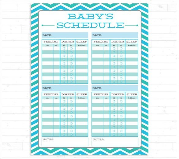 Super Nanny Schedule For Infant #As37 – Advancedmassagebysara Baby Bet Calnder Template