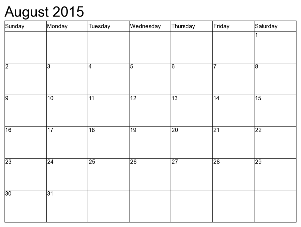 The Blank Calendar Template Printable 8 1/2 X 11 | Get Free Printable 8 1/2 X 11 Calendar