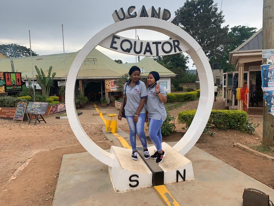 The Uganda Equator Line   Muafrika Adventures Limited Write On Calander With Min Of 16 Line