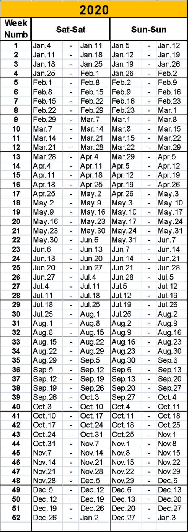 Timeshare Calendar 2020   Free Printable Calendar Printable 2020 Calendar Free Saturday To Friday