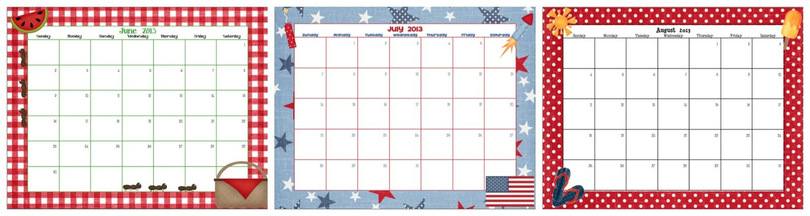 Total Tippins Takeover: Summer Schedules And Activities Blank Calendar To Fill In Activities