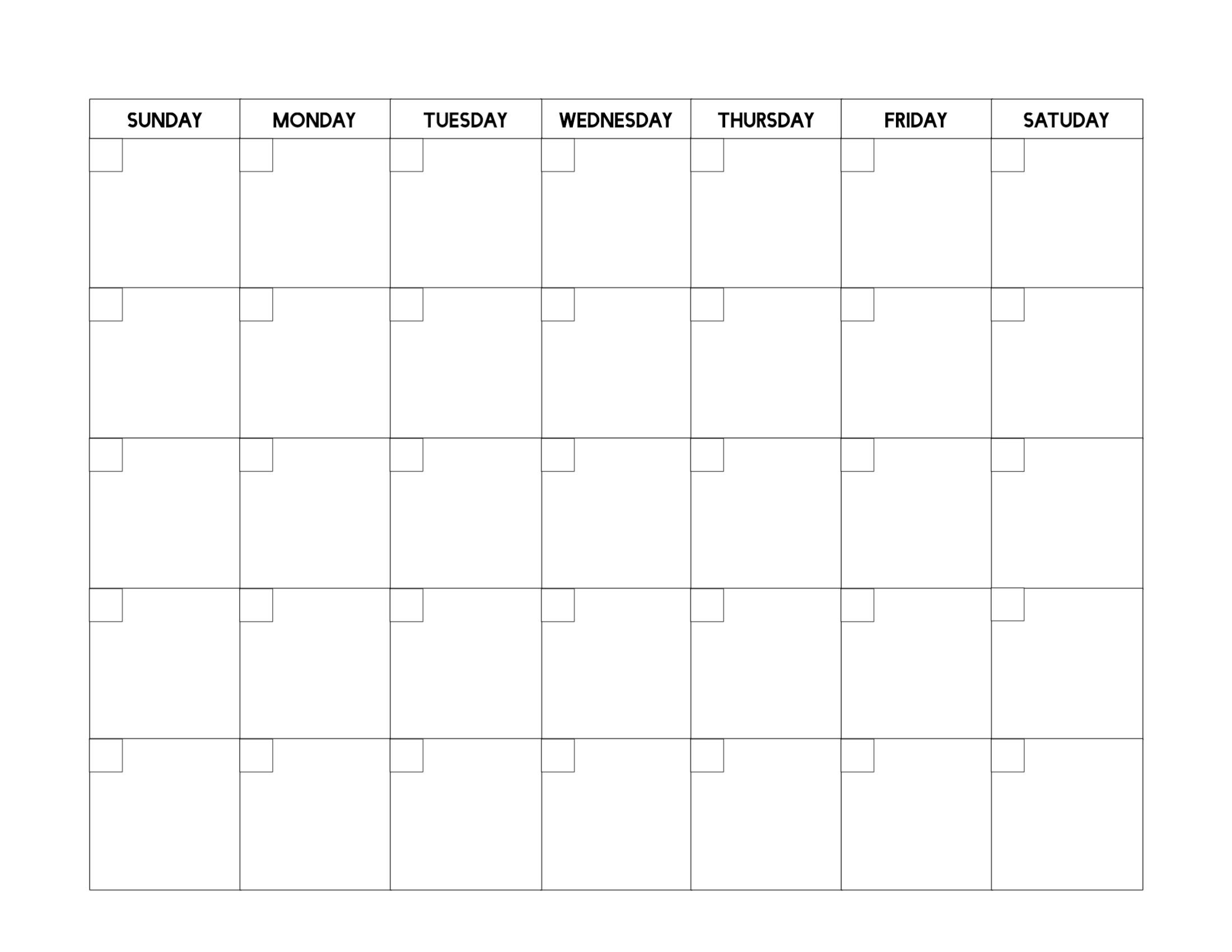 Universal Free Fill In Calendars In 2020 | Printable Blank Online Calendar To Fill In