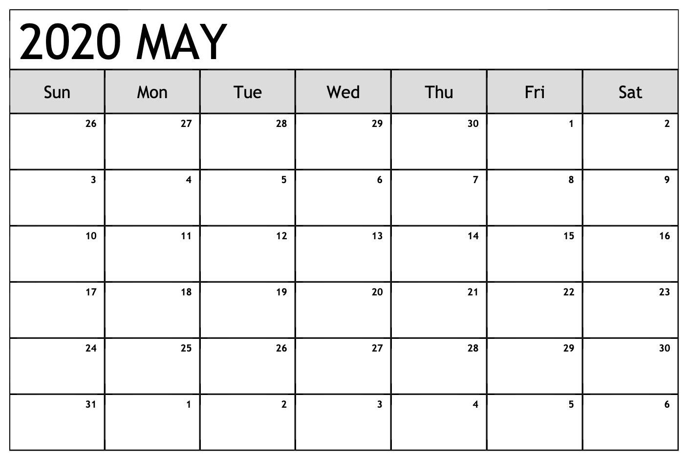 Universal Monthly Calendars You Can Edit   Get Your Calender You Can Edit