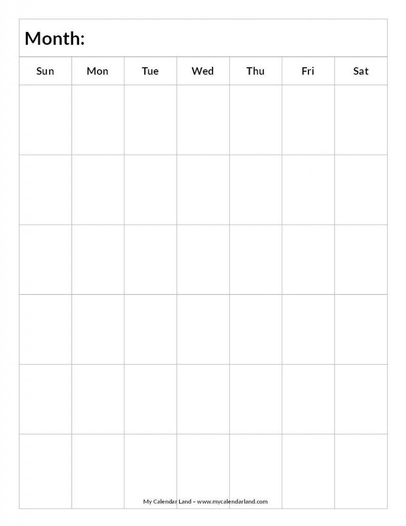 6 Week Calender - Calendar Template 2021 Aol Free Printable Calendar